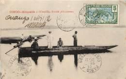 CONGO FRANCAIS  MOTOGODILLE A NCOUNDA SOCIETE ALIMAÏENNE - Congo Français - Autres