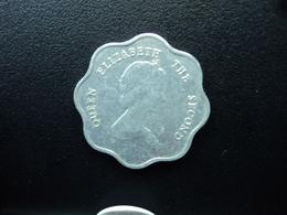 CARAÏBES ORIENTALES : 5 CENTS  1989   KM 12    SUP+ - Caribe Oriental (Estados Del)