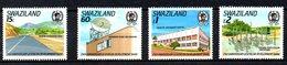 SWAZILAND. N°557-60 De 1989. Banque Africaine De Développement/Centrale électrique/Hôpital. - Swaziland (1968-...)