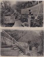 GREENOCK - AUCHMOUNTAIN GLEN. 2 CARDS - Renfrewshire