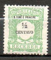 PORTUGAL St Thomas Et Prince  Taxe 1921 N°42 - St. Thomas & Prince