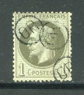 Y&T N°25- Oblitération OR En Noire - 1863-1870 Napoleon III Gelauwerd