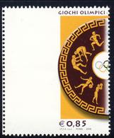 """Varieta' """"R3"""" Giochi Olimpici Di Pechino Bordo Di Foglio MNH**(vedi Descrizione) Signed G.Biondi - 6. 1946-.. Repubblica"""