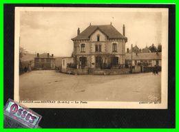 SAINT- LEGER - Sous - BEUVRAY La Poste (recto Verso) - France