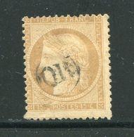Y&T N°59- Oblitération OR En Noire - 1871-1875 Cérès