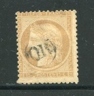 Y&T N°59- Oblitération OR En Noire - 1871-1875 Ceres