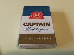CAPTAIN FAVORIT BUBBLE GUM VINTAGE PACKET YUGOSLAVIA ZVAKE - Other Collections