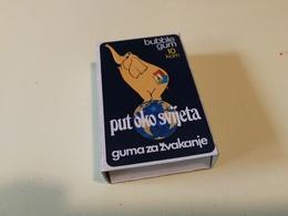 PUT OKO SVIJETA BUBBLE GUM VINTAGE PACKET YUGOSLAVIA ZVAKE - Andere Sammlungen