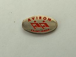 Pin's AVIRON - ST OMER - Aviron