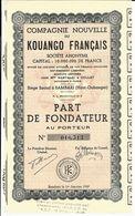 VOIR HISTORIQUE ENTREPRISES COLONIALES CIE NOUVELLE DU KOUANGO FRANCAIS CAOUTCHOUC B.E.V.SCANS+HISTORIQUE - Tourisme