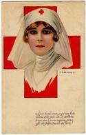 ILL. NANNI - COMITATO PROPAGANDA CROCE ROSSA - MILANO - 1917 - Vedi Retro - Formato Piccolo - Croce Rossa