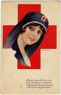 ILL. NANNI - COMITATO PROPAGANDA CROCE ROSSA - MILANO - 1917 - Vedi Retro - Formato Piccolo - Red Cross