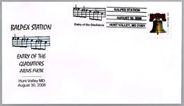 ENTRY OF THE GLADIATORS - JULIUS FUCIK. Hunt Valley MD 2008 - Música