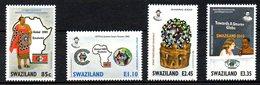 SWAZILAND. N°716-9 De 2004. Global 2003. - Swaziland (1968-...)