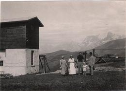 Photo Originale Haute Savoie Téléphérique De Rochebrune Megève - Lieux