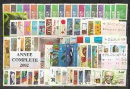 ANNEE COMPLETE  2002   **  1 ER CHOIX  COTE  124   € - Frankreich