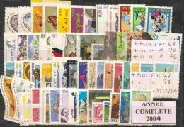 ANNEE COMPLETE  2004    **  1 ER CHOIX  COTE  148     € - Frankreich