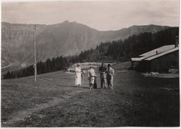 Photo Originale Haute Savoie Téléphérique De Rochebrune Le Plateau Megève - Lieux