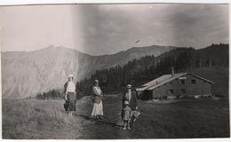 Photo Originale Haute Savoie Téléphérique De Rochebrune Le Plateau Chalet Megève - Lieux