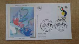 FDC - N°3657 - Entente Cordiale 1904-2004 «Cocccinelle» De Sonia Delaunay - 2000-2009