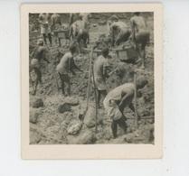 PHOTOGRAPHIE ORIGINALE - AFRIQUE NOIRE - CONGO - Photo PAULEAU - MINES D'OR - Chercheurs D'or - Africa