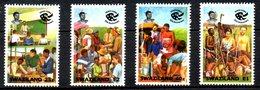 SWAZILAND. N°626-9 De 1994. Corps De La Paix. - Swaziland (1968-...)