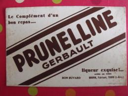 Buvard Liqueur Perunelline Gerbault. Bourin à Tours. Vers 1950 - Wash & Clean
