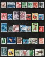 JAPAN---Collection Of USED DL-545 - Collections, Lots & Séries