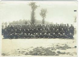 Foto/Grande Photo. Militaria. Groupe De Soldats Et Fusils - Krieg, Militär
