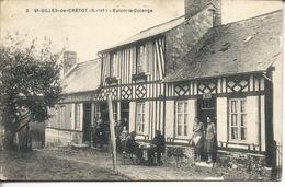 Saint-Gilles-de-Crétot - épicerie Colange - Frankreich