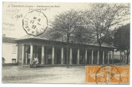 CPA  HAGETMAU LANDES / ETABLISSEMENT DES BAINS / HAGETMAU A ST SEVER 1922 - Hagetmau