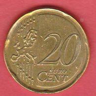 2008 Malta - 20c Circolato (fronte E Retro) - Malta