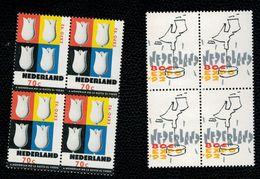 Olanda Pays-Bas Nederland Netherlands 1992 Expo Siviglia 2v Complete Set In Quartina  ** MNH - Unused Stamps