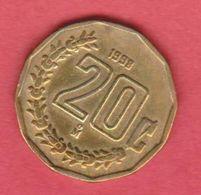 1998 Messico - 20c Circolato (fronte E Retro) - Messico