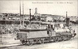 44 - SAINT-ETIENNE-DE-MONTLUC - Réédition Carte Ancienne Pour La Chronique Villageoise De 1987 - Saint Etienne De Montluc
