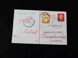 ENTIER POSTAL   1 ST SPEC  FLIGHT  POUR ZAGREB - Airmail