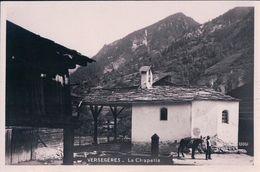Versegères, La Chapelle Et L'âne (13061) - VS Valais