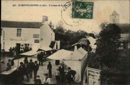 44 - SAINT-BREVIN-LES-PINS - L'Avenue De La Mer - Marché - Saint-Brevin-les-Pins
