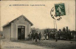 44 - SAINT-BREVIN-LES-PINS - La Gare - Arrivée Du Train - Saint-Brevin-les-Pins