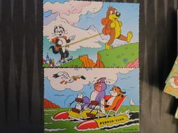TI - LOT De 2 Cartes De PIF Et HERCULE - PIFOU - Stripverhalen