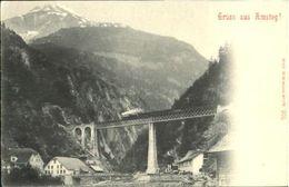 10580532 Amsteg Amsteg  Ungelaufen Ca. 1900 Amsteg - Suisse