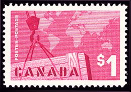 Canada (Scott No. 411 - Export) [**] - 1952-.... Règne D'Elizabeth II