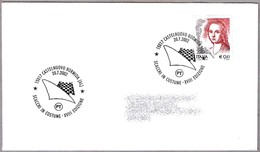 AJEDREZ VIVIENTE - SCACCHI IN COSTUME. Castelnuovo Bormida, Alessandria, 2002 - Schach