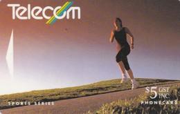 New Zealand, NZ-G-045, 1992  Summer Sports, Running In New Zealand, 2 Scans. - New Zealand