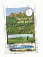 Publicité, GAILLAC , Vignobles De La Vallée Du Tarn , 2 Scans , 81 - Advertising
