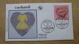 FDC - N°3747 - Saint Valentin Le Coeur De Cacharel - 2000-2009