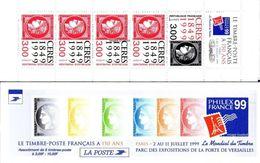 France Carnet N° 3213 ** Anniversaire Du Premier Timbre Français, Cérès Noir Et Rouge - Markenheftchen