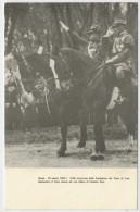 ROMA 23 MARZO  1923   IL DUCE  ASSISTE  A  UNA  SFILATA  DE  CAMICIE NERE        2  SCAN  (NUOVA ) - Eventi