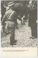 ROMA  4-11-1922  IL  DUCE  OSSEQUIA  LA  MAESTA' DEL RE  DINANZI LA CHIESA  DI S.MARIA  D. AN GEL      2  SCAN  (NUOVA ) - Eventi