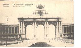 Bruxelles - CPA - Brussel - Les Arcades Du Cinquantenaire - Panoramische Zichten, Meerdere Zichten